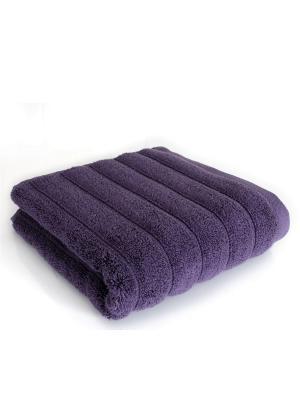Полотенце Waves фиолетовый 30*50 IRYA. Цвет: фиолетовый