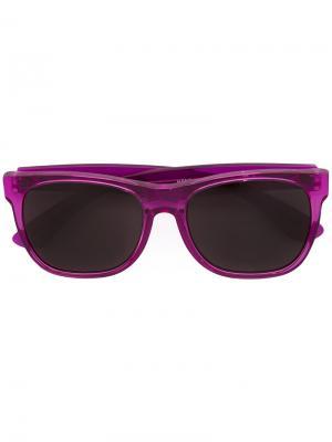 Солнцезащитные очки Classic Retrosuperfuture. Цвет: розовый и фиолетовый