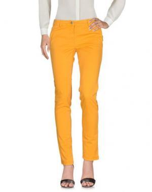 Повседневные брюки DONNAVVENTURA by ALVIERO MARTINI 1a CLASSE. Цвет: оранжевый