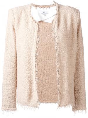Frayed jacket Iro. Цвет: телесный