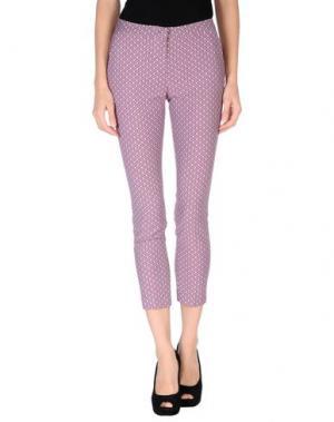 Повседневные брюки TROU AUX BICHES. Цвет: пурпурный