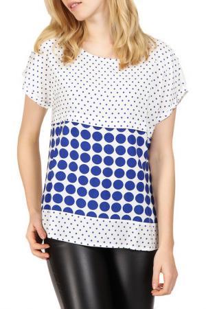 Блуза Apanage. Цвет: синий