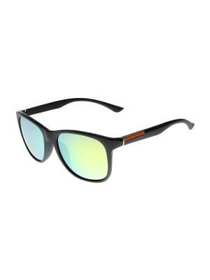 Солнцезащитные очки Olere. Цвет: черный, желтый, оранжевый