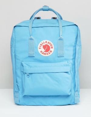 Fjallraven Голубой рюкзак Kanken Majestic. Цвет: синий