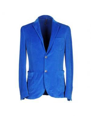 Пиджак MONTEDORO. Цвет: лазурный
