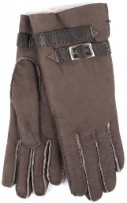 Перчатки  14/253/DBL/ND темно-коричневый AGNELLE