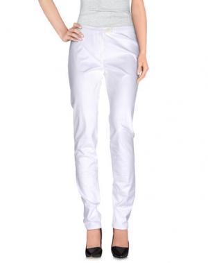 Повседневные брюки TER DE CARACTÈRE. Цвет: белый