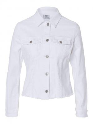 Куртка Cross Jeans. Цвет: белый