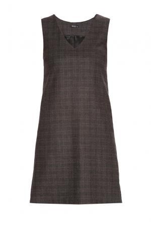 Платье из шерсти BR-184258 Burlo. Цвет: коричневый