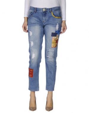 Джинсовые брюки SUPERPANTS. Цвет: синий