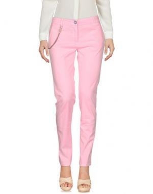 Повседневные брюки MODFITTERS. Цвет: розовый