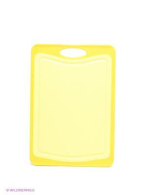 Доска разделочная Frybest. Цвет: желтый