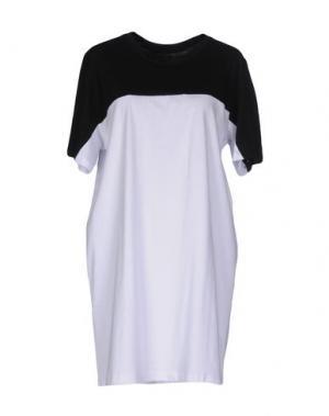Короткое платье NUMERO 00. Цвет: белый