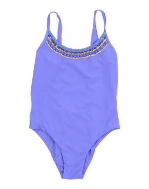 Слитный купальник FISICHINO. Цвет: фиолетовый