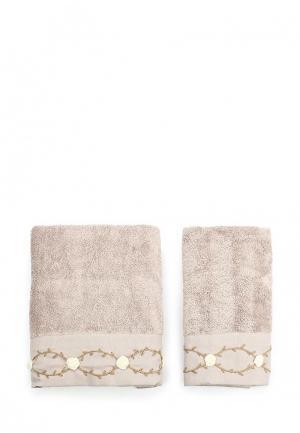 Комплект полотенец 2 шт. Sofi De Marko. Цвет: коричневый