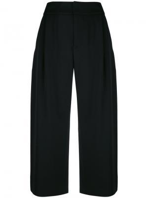 Классические брюки-кюлоты Marni. Цвет: чёрный