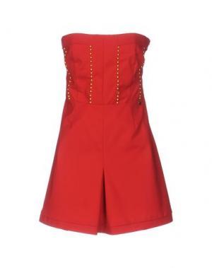 Короткое платье KORALLINE. Цвет: красный