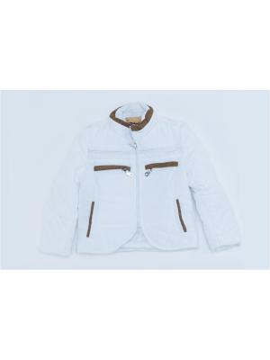 Куртка для мальчиков Pilota. Цвет: белый