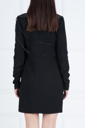 Платье из вискозы Jay Ahr. Цвет: черный