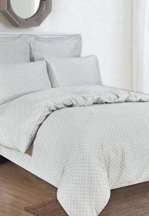 Комплект постельного белья Евро Sofi De Marko. Цвет: серый