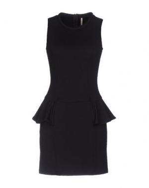 Короткое платье EMMA&GAIA. Цвет: темно-фиолетовый