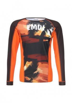 Гидрофутболка Emdi. Цвет: оранжевый