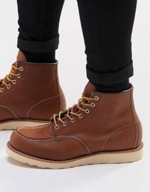 Red Wing Ботинки 6 из искусственной кожи. Цвет: коричневый