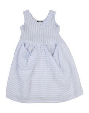 Платье EUROPEAN CULTURE. Цвет: небесно-голубой