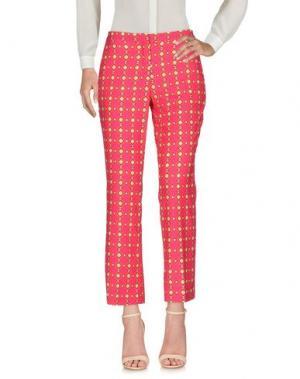 Повседневные брюки MAESTA. Цвет: фуксия