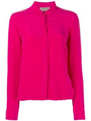Классическая рубашка Tony Cohen. Цвет: розовый и фиолетовый
