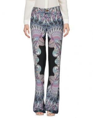 Повседневные брюки CUSTO BARCELONA. Цвет: стальной серый