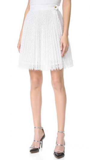Плиссированная юбка Antonio Berardi. Цвет: bianco ottico