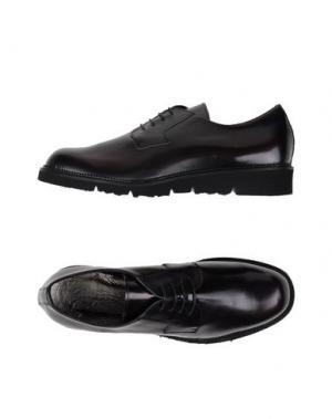 Обувь на шнурках GIORDANA F.. Цвет: баклажанный