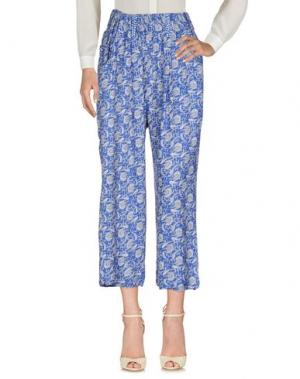 Повседневные брюки OPALINE. Цвет: синий