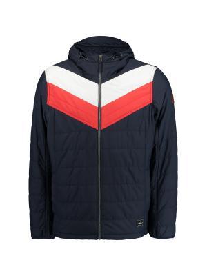 Куртка O'Neill. Цвет: синий, белый, красный