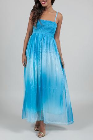 Платье ANABELLE. Цвет: синий