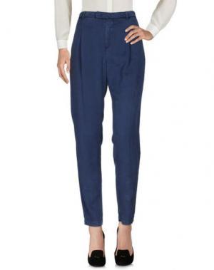 Повседневные брюки E-GÓ. Цвет: пастельно-синий