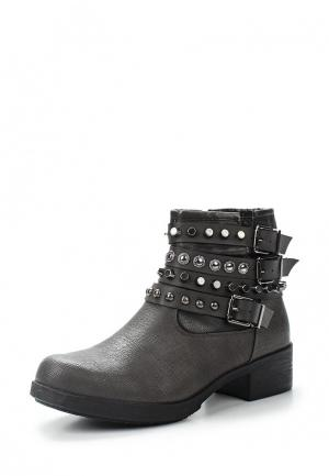 Ботинки Findlay. Цвет: серый