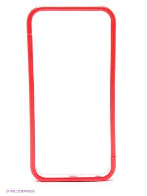Бампер для iPhone 5/5s Spigen (красный) Kawaii Factory. Цвет: красный