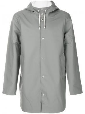 Пальто Stockholm Stutterheim. Цвет: серый