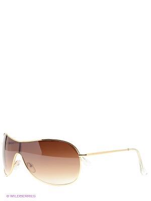 Солнцезащитные очки Vittorio Richi. Цвет: коричневый, желтый