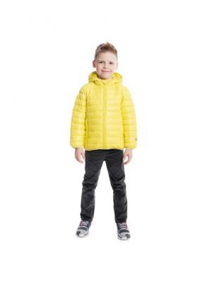 Куртка PlayToday. Цвет: желтый