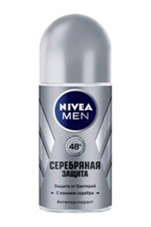 Шариковый дезодорант Серебрян NIVEA. Цвет: none