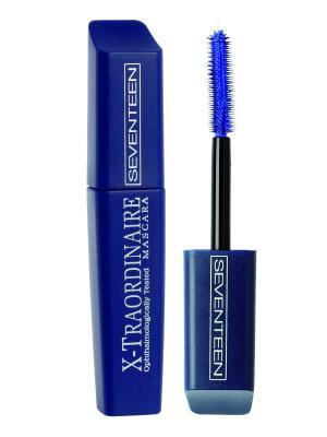 Тушь для удлинения, подкручивания, увеличения объема X-Traordinare Mascara № 02 Seventeen.. Цвет: голубой