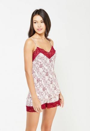 Пижама Deseo. Цвет: белый