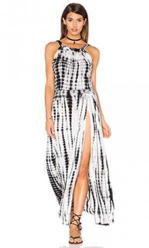 Платье gypsy Stillwater. Цвет: black & white