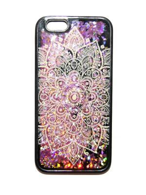 Чехол для Iphone 6/6s Lola. Цвет: черный, розовый