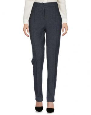 Повседневные брюки VANESSA BRUNO ATHE'. Цвет: свинцово-серый