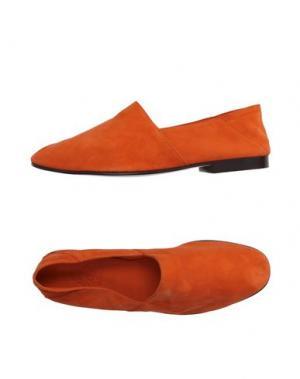 Мокасины MR.HARE. Цвет: оранжевый