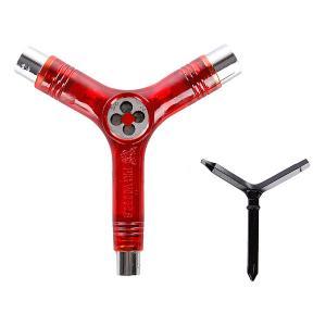 Ключ для скейтборда  Tool Clear Red Pig. Цвет: красный
